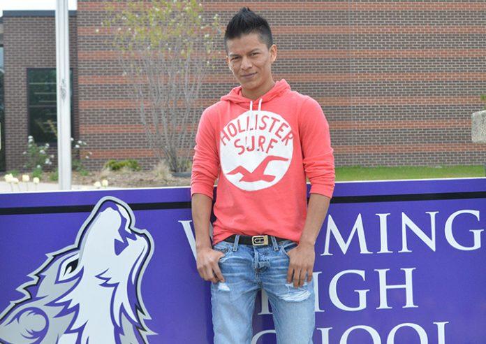 Wyoming student Jose Sanchez Bueso