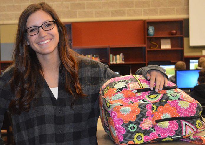 'I feel I wouldn't be productive if I wasn't involved,' says Sparta graduate Erica Humphreys