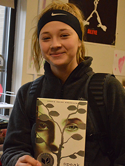 Maddy Roosa has learned to like reading because she has many books to choose from