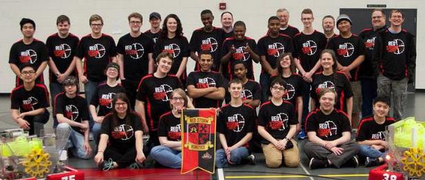 East Kentwood High School's Red Storm FIRST Robotics team