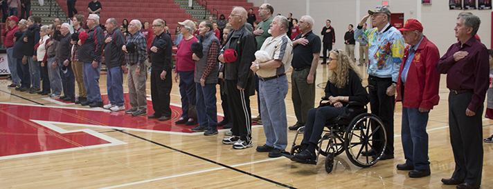 About 50 veterans were honored by the Northview High Student Council (photo courtesy of Julie Haveman)