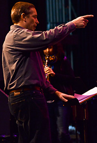 Director Greg Wells said it's important to expose students to professional players (photo by Ellie Haveman)