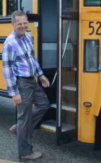 Darryl Hofstra is transportation director for Forest Hills Public Schools