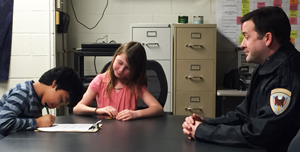 Elile Silvestre and Madeline Pauline interview Wyoming Police Officer Rory Allen cr. Lysa Stockwell
