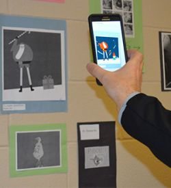 Augmented reality technology brings images to life on screen