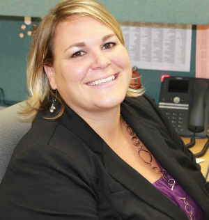 """Kenowa Hills Middle School Principal Abby Wiseman says students """"need to have somebody they can trust"""""""