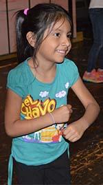 "Abigail Hernandez dances in ""Little Mermaid, Jr."