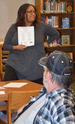 Wyoming Junior High social worker Brooke Davis works to build awareness of mental health issues