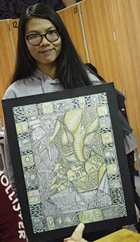 Linh Le is an award-winning artist from Vietnam