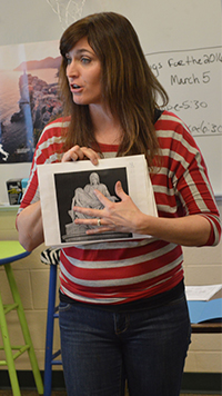 Betsy Rybarczyk's World History class touches on many places she's traveled to around the globe