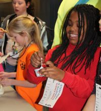 Students learn the difference between a physical and chemical change