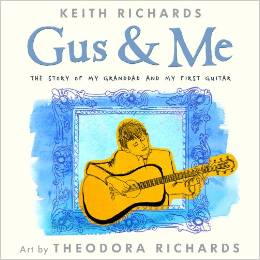 Venessa Ruffer is excited to have Keith Richard's children's book Gus & Me to read to her music class