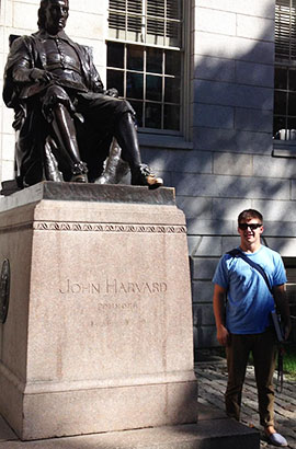 Kanon Dean, a Lowell High School graduate, is studying economics and competing in wrestling at Harvard University