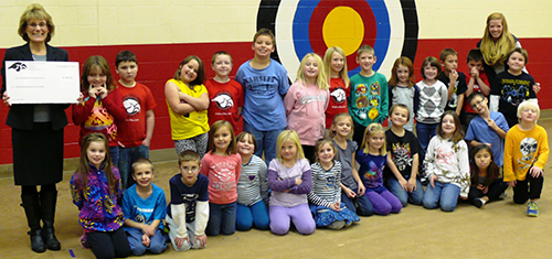 Rebekah Nagy's second-grade class was one of the top two fundraising classrooms