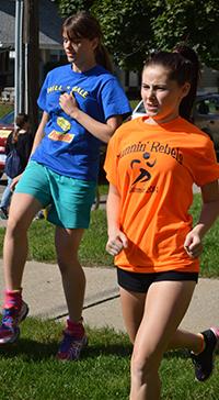 Jordan Lovett is active in school, and running helps 'clear her head'