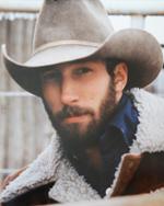 Hazel as a young cowboy