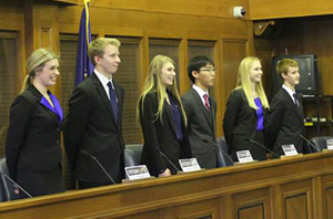 """The EGR """"We the People"""" team competes"""