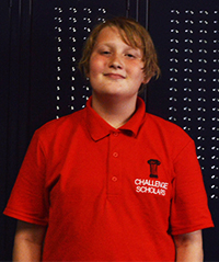 Challenge Scholar Jakob Jordan hopes to go to Ferris State University