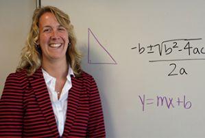 Kent ISD math consultant Allison Camp