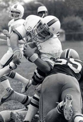 Jamie Hosford was a GVSU star athlete earning 12 letters  (photo courtesy GVSU)