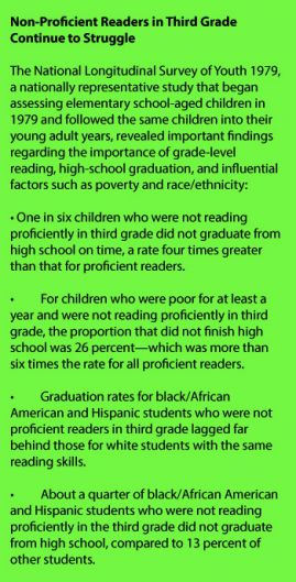 Source: Community Literacy Initiative Literacy Report Part 1: Third Grade Reading, from the Literacy Center of West Michigan
