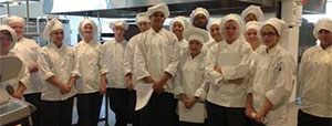 Students chefs are working out of the Downtown Market