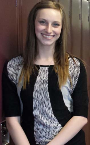 Katelyn is excited to graduate from Kenowa Hills High School after overcoming family health and financial problems