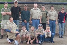 Members of Boy Scout Troop 352 and Cub Scout Pack 3352 have contributed hundreds of hours to improve the West Elementary School schoolyard