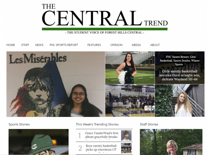 The Central Trend publishes a minimum of 42 new articles every week, seven days a week